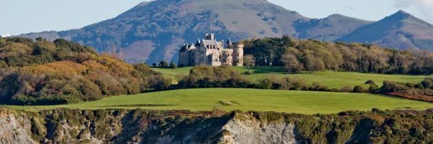 Le château d'Abbadia