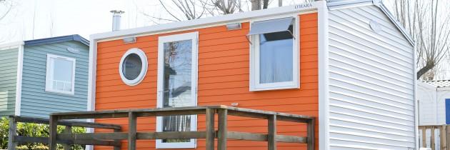 2014 : 2 petits mobil-homes pour séjour en couple